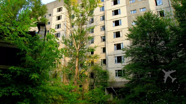 The ghost town of Pripyat
